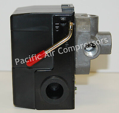 Air Compressor Control Switch 120230 12 Volt 95-125 Psi Adjustable