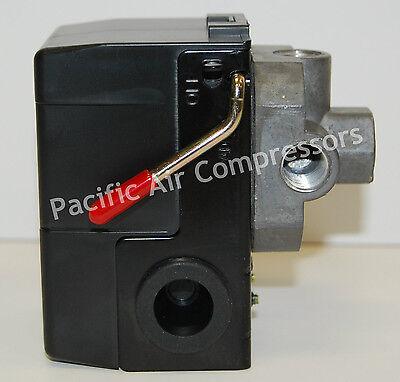 Premium Replacement Pressure Switch. Four Port. 95-125 Psi