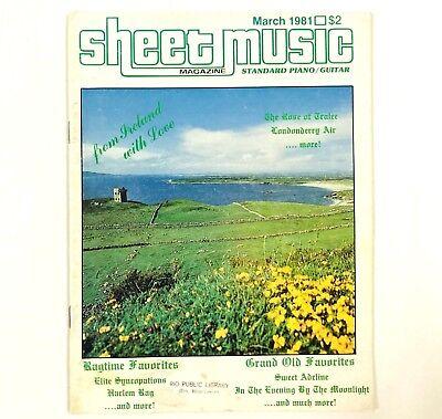 Sheet Music & Song Books - Sheet Music Magazine