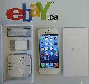 NEW-Apple-iPhone-5-32GB-LTE-A1428-WHITE-TELUS-Applecare-Feb-27-2014-Box-all-ace