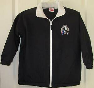 AFL Coat Youth Football Jacket Rain COLLINGWOOD MAGPIES Sz 8 NEW Narre Warren South Casey Area Preview