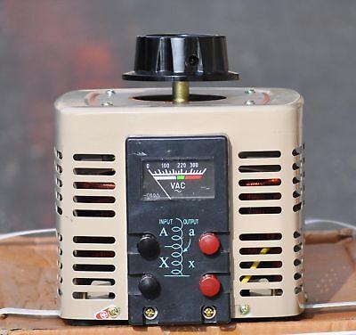 Volteq 2kva Variable Transformer Variac 2000va 0-250v 110v Input