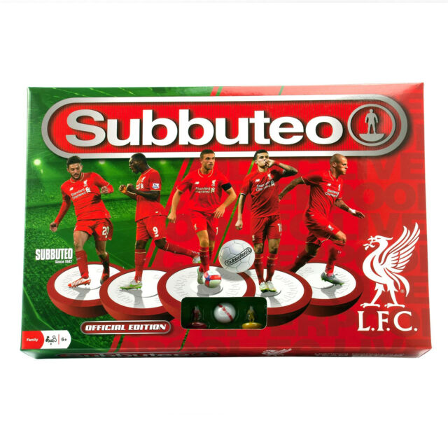 Subbuteo Table Football Game Liverpool FC Edition Complete Set 2 Teams Nets Ball
