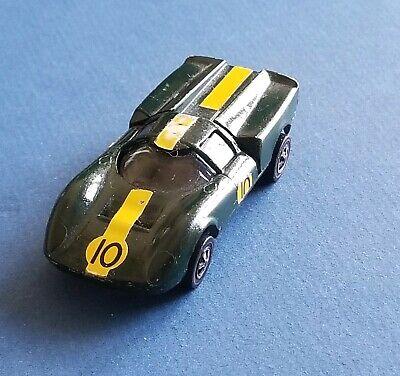 VINTAGE Hot Wheels Lola GT70 ©1968/1969 Redline USA British Racing Green NICE