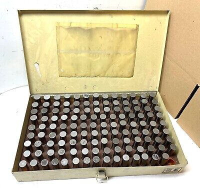 Vermont Pin Gage Set - .626 To .750 - 124 Gages - Clean And In Case