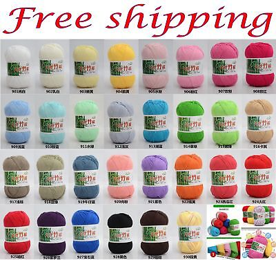 - 50g Thread Yarn Knit Crochet Tatting Embroidery woven lace yarn milk cotton
