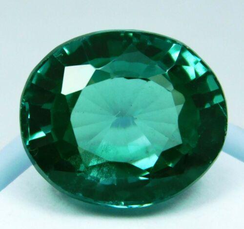 Natural 11.65 Ct Oval Cut Rarest Green Grandidierite Loose Gemstone