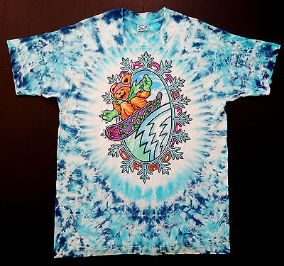 Grateful Dead Shirt T Shirt New !! 1994 Snowboarding Skiing Dancing Bears XL GDM