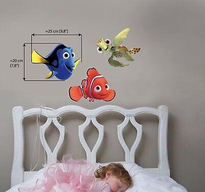 FINDING NEMO DORY Wall Stickers Sea Fish Bedroom Bafhroom Decor Children 3X20x30