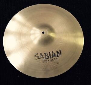 "18"" Sabian crash cymbal"