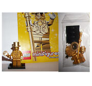 Lego Minifigures Mr Gold