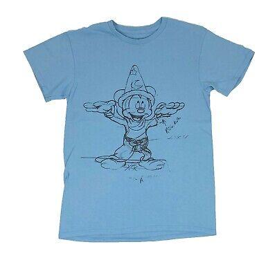 Disney Mickey Mouse Fantasia Sketch Retro Original Licensed Mens T Shirt S-2XL](Mens Mickey Mouse Shirt)