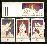 Canadá : 1986 ( Christmas - Complete Set ) Mnh - complete - ebay.es