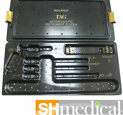 Acufex Tag 014712 Arthroscopic Instrument System Sterilization Tray Only Tray