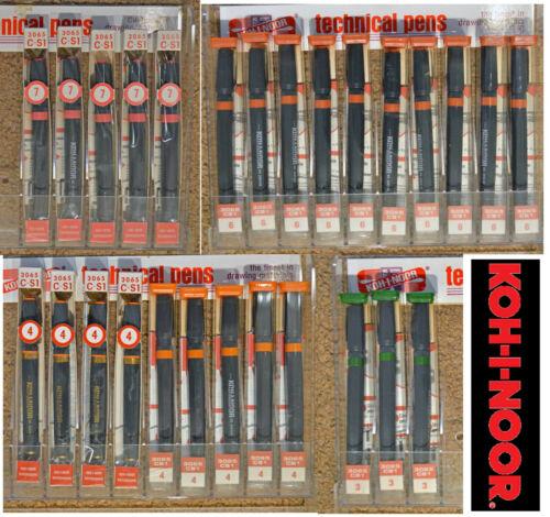 Ko-I-Noor Rapidograph 3065 C-S1 Technical Pens