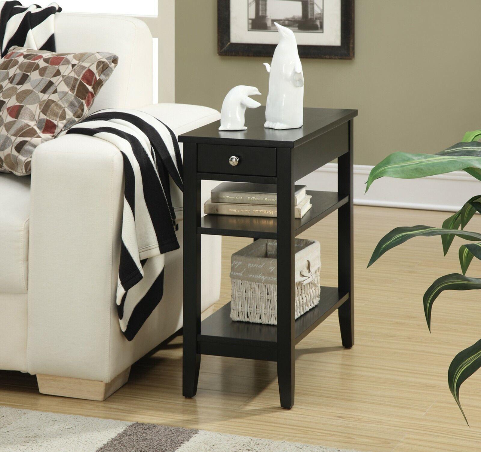end table nightstand bedside drawer furniture cabinet