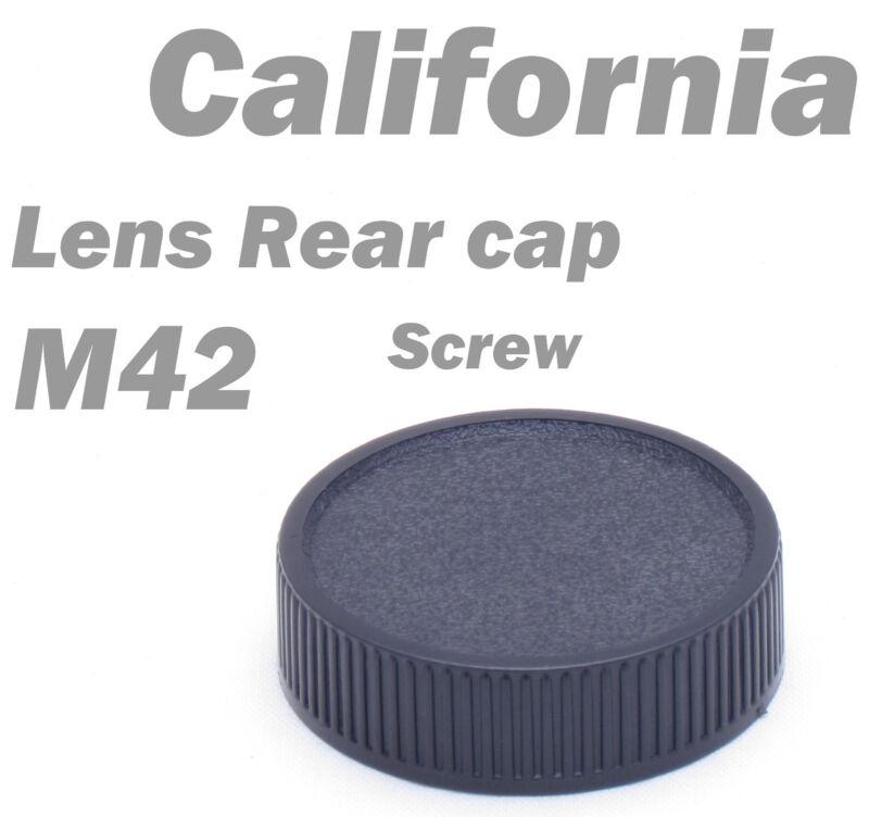 M42 42mm Screw Lens Rear Cover Cap for Praktica Zenit Pentax Mount back
