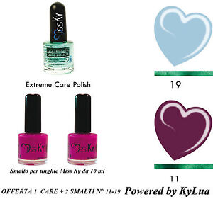 KIT-SMALTI-CURATIVO-UNGHIE-SUMMER-COLLECTION-KyLua-Made-in-Italy-Nail-Polish