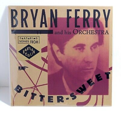BRYAN FERRY Bitter-Sweet VINYL LP Sealed Featuring Songs from Babylon Berlin