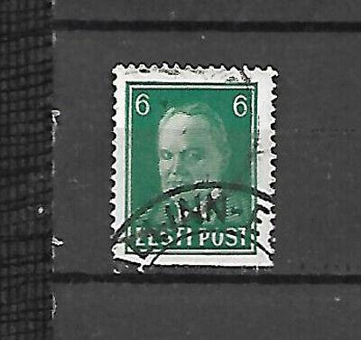 Estonia. 6s green Pats used (10693)