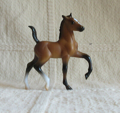 Breyer Stablemate Trotting Foal in bay from Stable Surprise # 6049