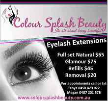 Eyelash extensions / Makeup Willetton Canning Area Preview