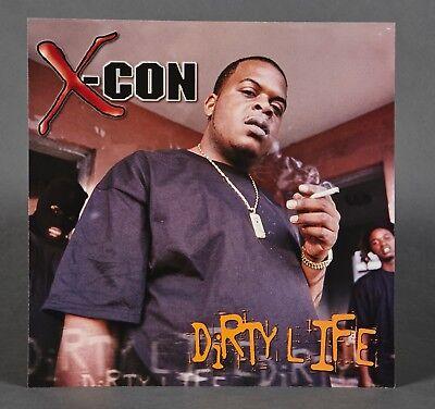 X-CON Dirty Life, orig Elektra promotional poster flat 2000 rare 12x12