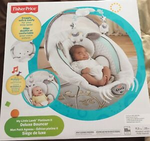 Brand New! Fisher-Price Deluxe Bouncer Platinum II