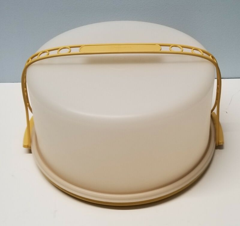 Vintage TUPPERWARE Large 12 In MAXI Cake/Pie Taker/Carrier 1256