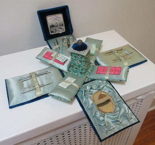 Antique Sewing Compendium Crystal Palace Souvenir London Exhibition