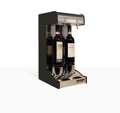 Two Bottle Wine Dispenser and Preservation System for Home Bottle Wine Preservation System