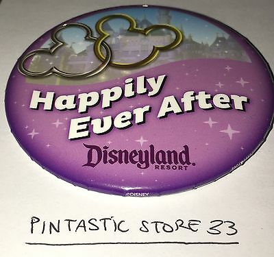 Brand New 2016 Disneyland Happily Ever After Button ~ New Design