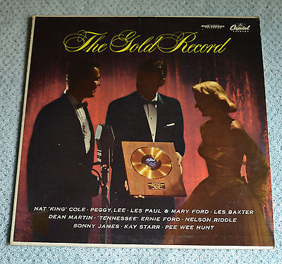 The Gold Record  Various Capitol Records Artists   12 Lp