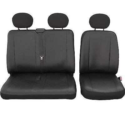 Opel Movano B ab 2010 Passgenaue Sitzbezüge VIP ECO Kunstleder X101