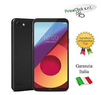 "LG Q6 DUAL SIM 5.5"" OCTA CORE 32GB RAM 3GB 4G LTE ITALIA BLACK SMARTPHONE"