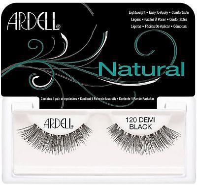 (Ardell Fashion Lashes Natural Strip Lash, Black [120] 1 ea)