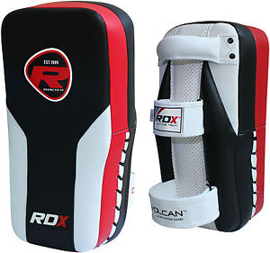 RDX Thai Kick Boxing Strike Curved Arm Pad MMA Focus Muay Punch Shield Training
