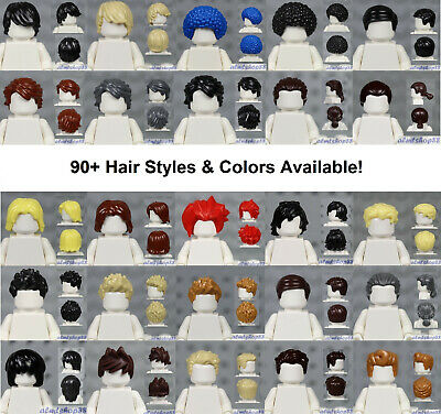 LEGO NEW TAN LAYERED MID-LENGTH TOUSLED STAR WARS BOY OR GIRL MINIFIG HAIR WIG