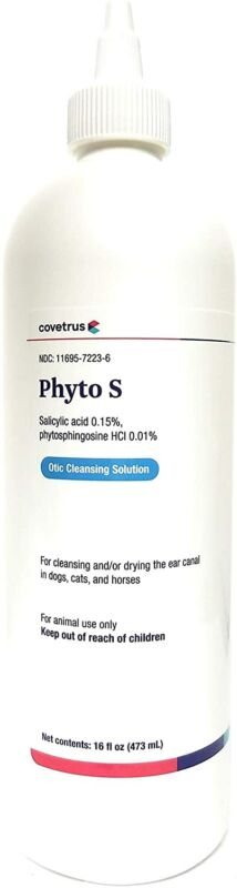 Phyto S Otic Cleansing Solution, 16 oz
