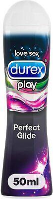 Durex Play Perfect Glide Gleit- & Erlebnisgel auf Silikonbasis Gleitmittel 50ml
