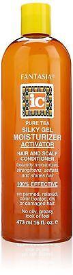 Fantasia Hair Care (IC Fantasia Pure Tea Silky Gel Moisturizer Activator 473ml/16oz / Hair Care)