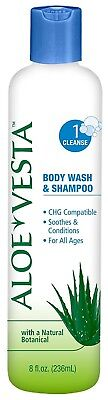 51324609EA - Aloe Vesta Body Wash and Shampoo 8 oz.