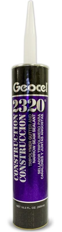 Geocel 2320 Gutter Sealant 1 tube (White)