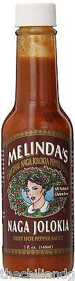 Naga Jolokia Hot Sauce (Melinda's Naga Jolokia Ghost Pepper Hot)