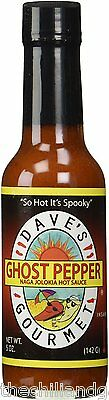 Naga Jolokia Hot Sauce (Dave's Ghost Pepper Naga Jolokia Hot)