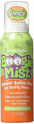 Saline Nasal Spray for Baby and Kids by Boogie Mist, Natural
