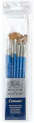 Winsor & Newton Cotman Short Handle Brush 7 Pack