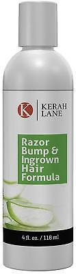 Kerah Lane Razor Bump & Ingrown Hair Formula 4 Oz for Women & Men: Best Serum (Best Razor For Woman's Face)