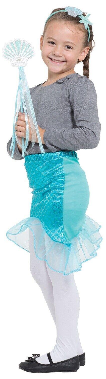 Girls Fairy Mermaid Unicorn Bright Rainbow Fun Fancy Dress Costume Outfit Kit