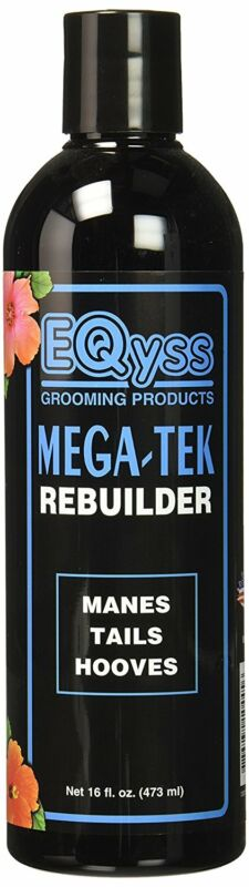 EQyss Mega-tek Rebuilder 16 oz | Grooming For Horse Manes Tails and Hooves
